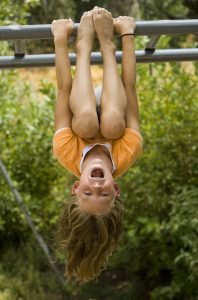 girl on monkey bars 198x300 How Safe is Too Safe?