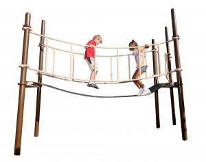 ripple bridge Sensory play