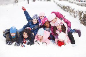 Snow Kids 300x199 Winterizing kids for outdoor play