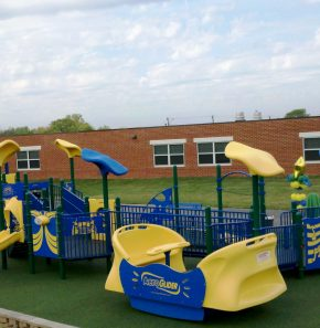 School and Aeroglider 290x297 Inclusive playground spotlight: Sycolin Creek