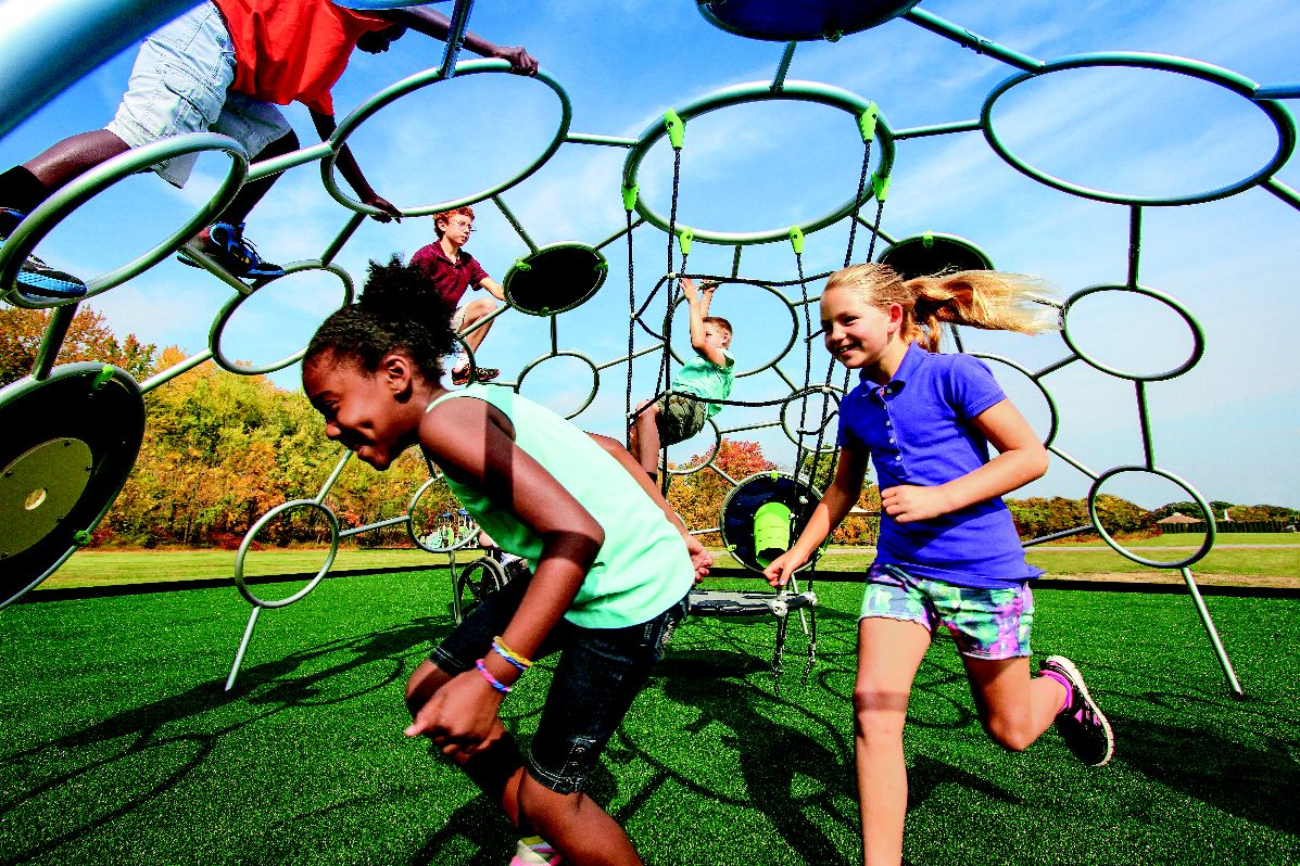 "Unity Dome inside1 Scientists say unstructured play helps build ""a better brain"""