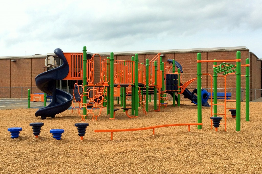 Middletown Elementary School Playworld Systems inclusive playground