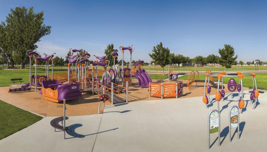 inclusive playground autism - Playworld