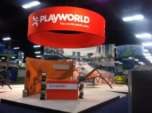 Playworld booth at NRPA 2015