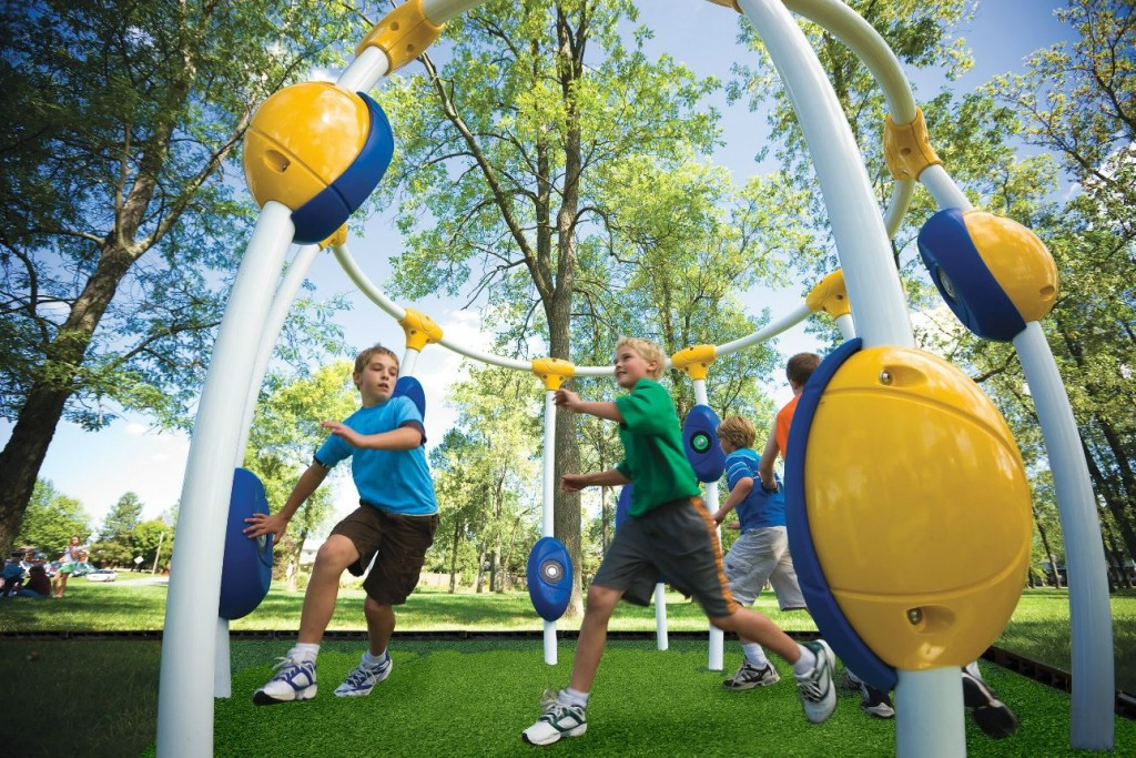 NEOS electronic playground equipment