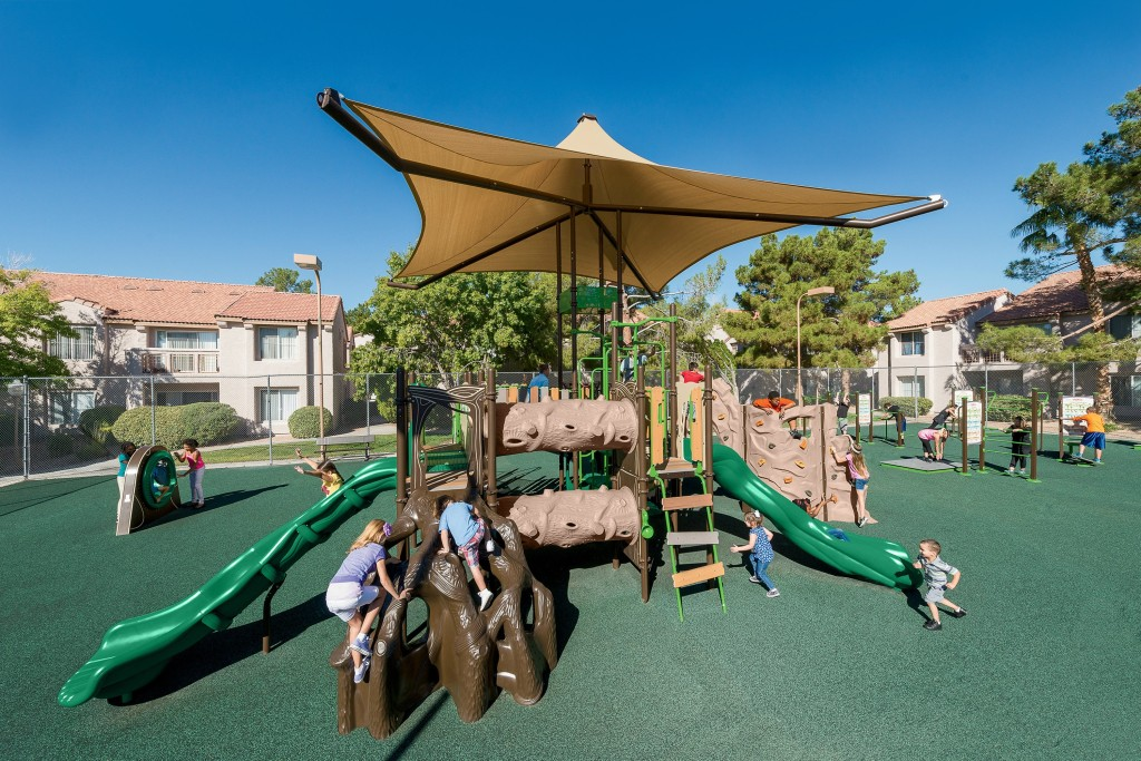 Playworld playgrounds for property owners