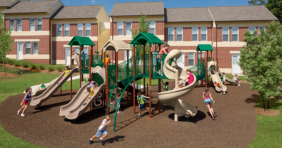 Playgrounds for Apartments