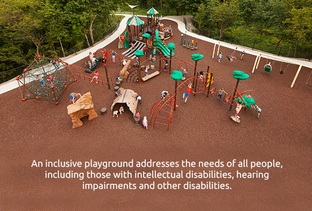 Inclusive Playground Addresses Needs of All People