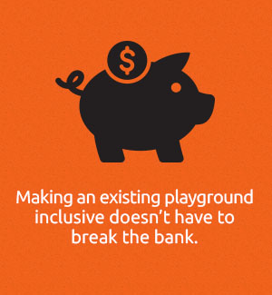Modifying Existing Playgrounds Doesn't Have to Break the Bank