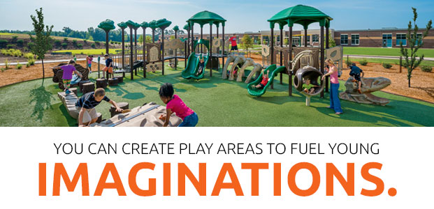 play areas to fuel young imaginations