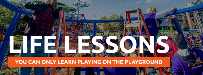 Life Lessons You Can Only Learn On the Playground