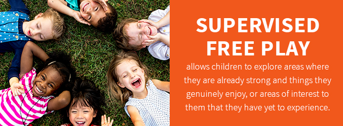 Supervised free play