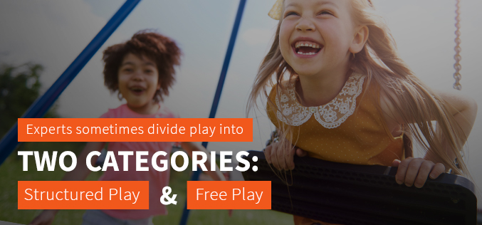 Structured play and free play
