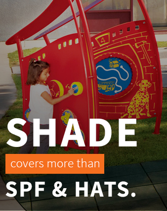 Shade covers more than SPF & hats