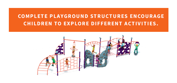 Playgrounds let children explore