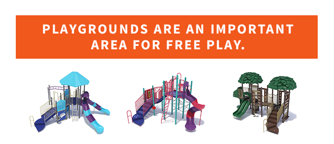 Playgrounds important for free play