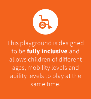 Fully inclusive playground design