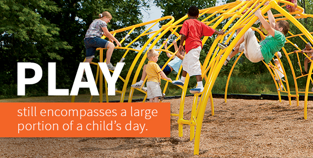 Play Is A Large Portion Of A Child's Day