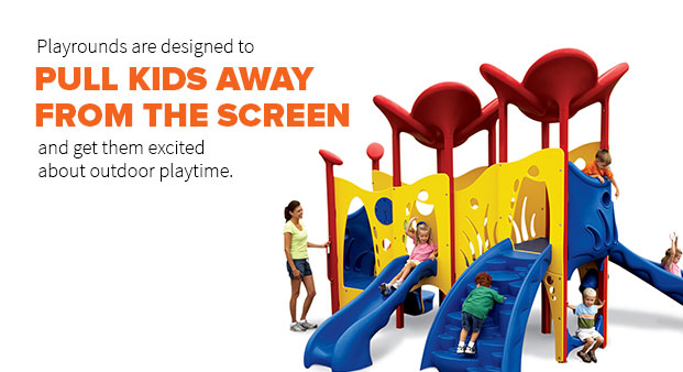 Playgrounds Are Designed To Pull Kids Away From The Screen And Get Them Excited About Outdoor Playtime.