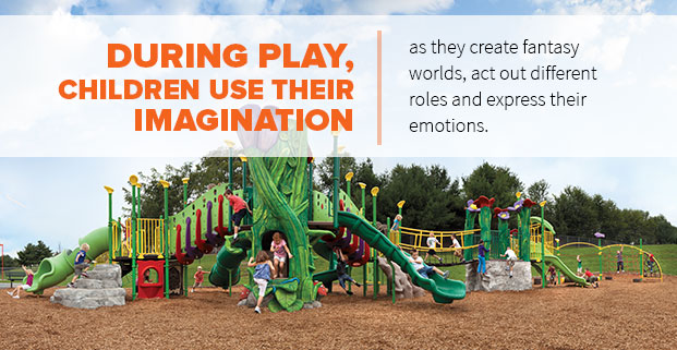 Children Use Their Imagination During Play.