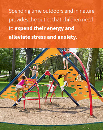 Outdoor Play Can Alleviate Stress And Anxiety