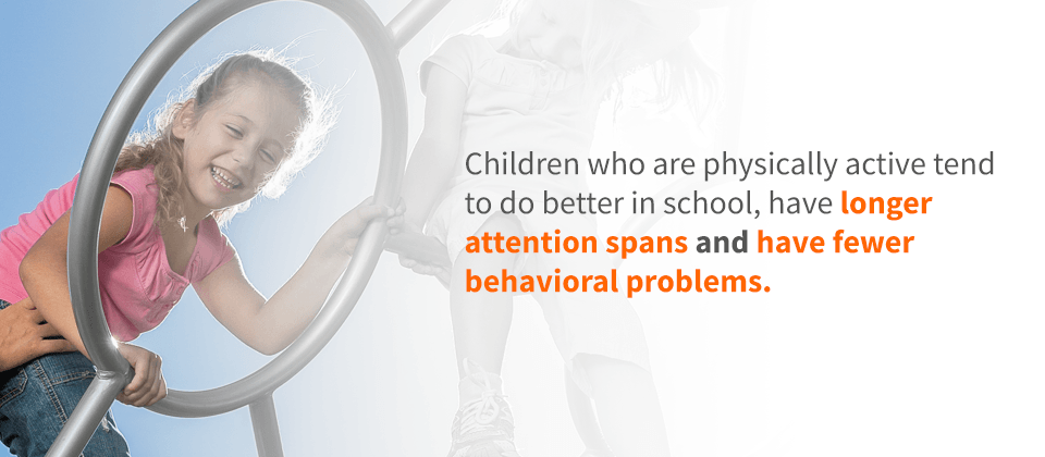 Children Who Are Physically Active Tend To Do Better In School