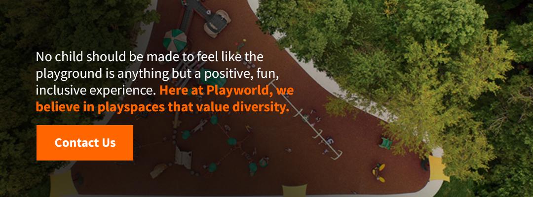Playspaces That Value Diversity