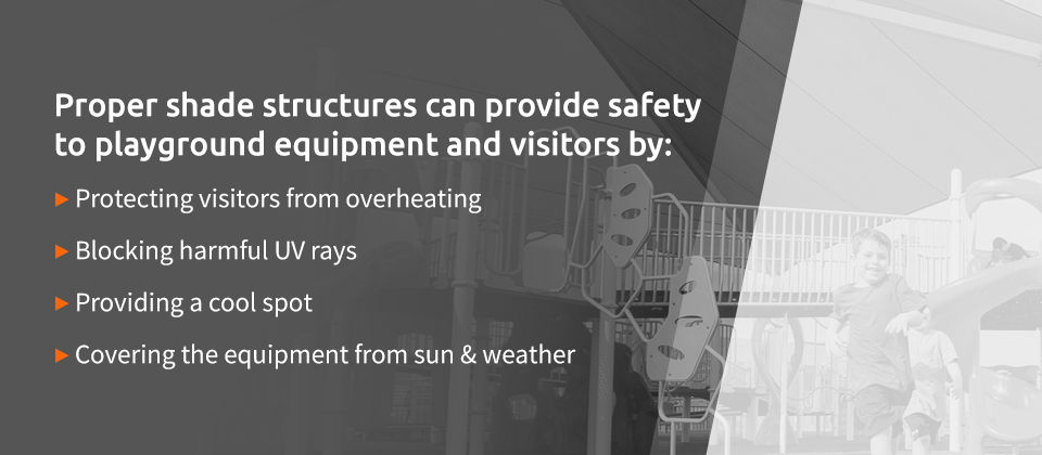 Proper Shade Structures Provide Safety to Playground Equipment