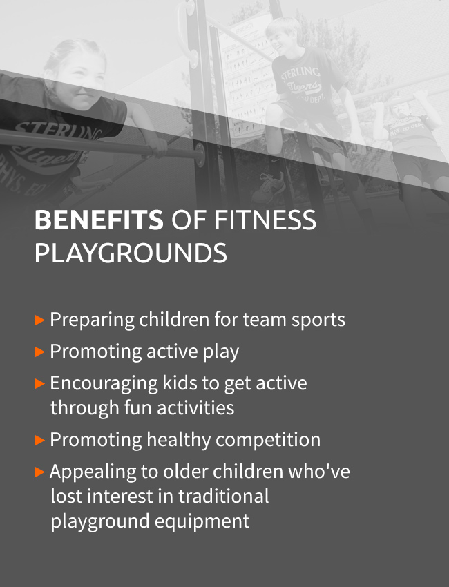 Benefits Of Fitness Playgrounds
