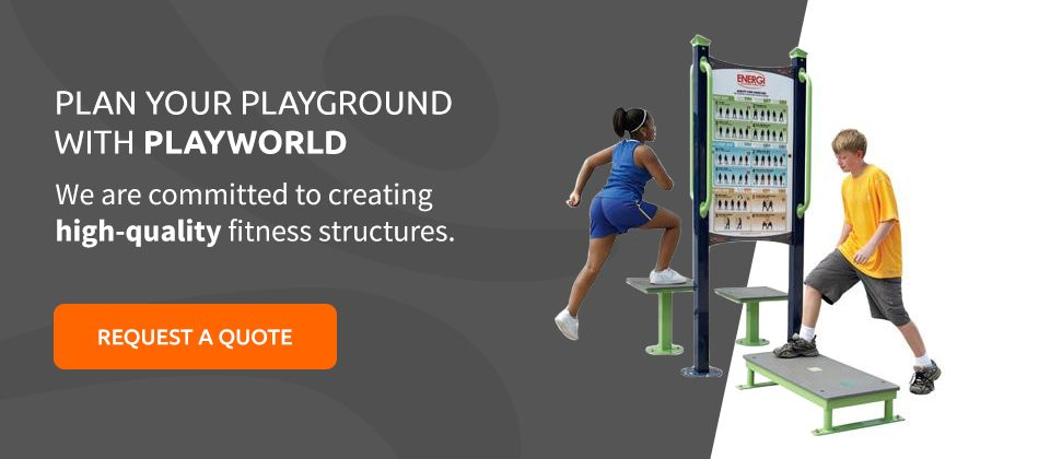 High-Quality Playground Fitness Structures