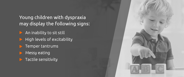 Young Children With Dyspraxia