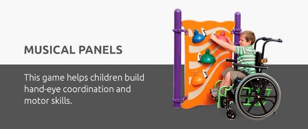 Music Panels Help Children Build Hand-Eye Coordination And Motor Skills