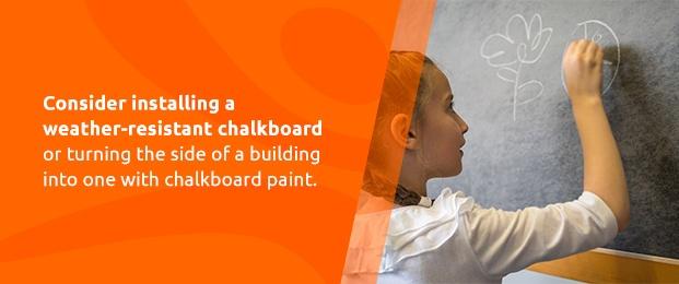 Weather-Resistant Chalkboard