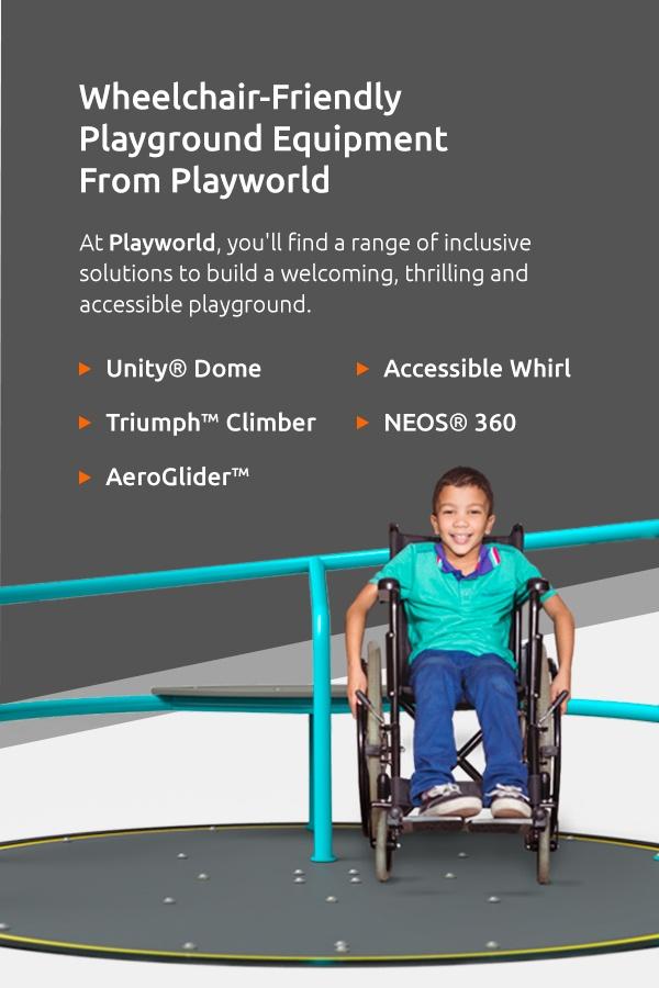 Wheelchair-Friendly Playground Equipment