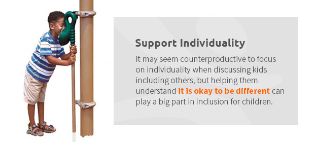Support Individuality