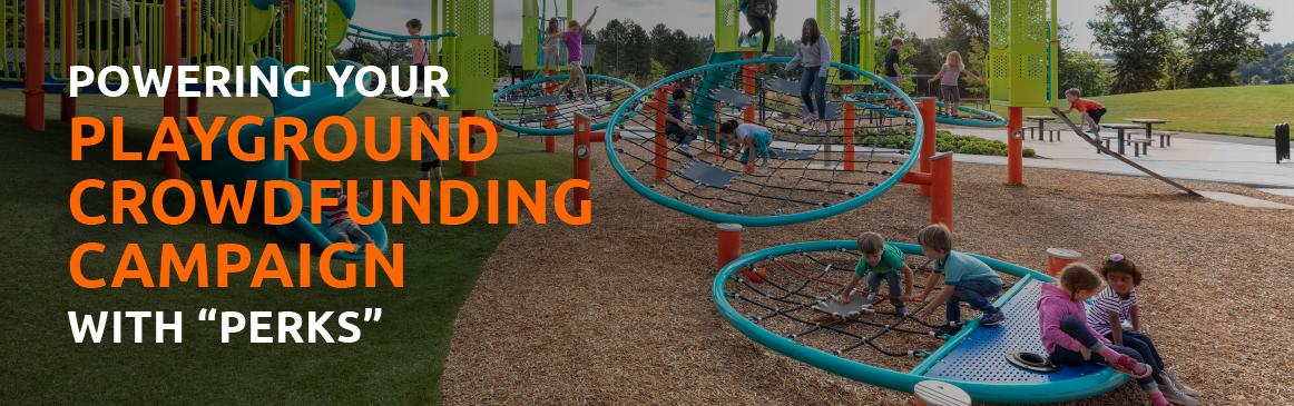 Playground crowdfunding campaign
