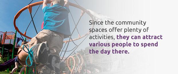 Economic advantages of community playgrounds