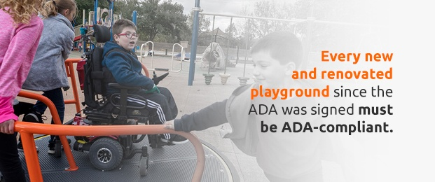 ADA compliant playgrounds