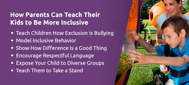 How parents can teach their kids to be more inclusive