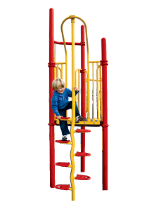 Playworld Beanstalk Climbers