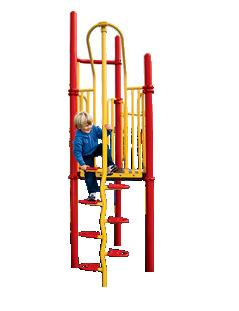 Playworld Beanstalk Climbers