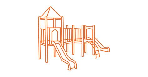 Commercial Preschool Playgrounds Early Childhood Playground Equipment