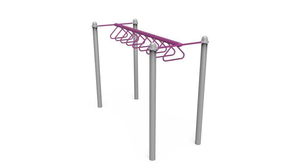 Straight Horizontal Loop Ladder - Upper-Body Activities