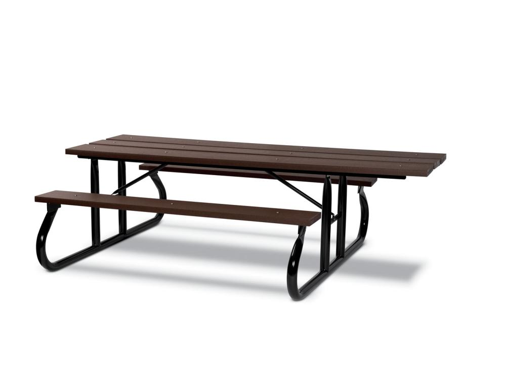 ADA Recycled Plastic Picnic Table 8' (2,44m) Portable - Picnic Tables,Site Furnishings