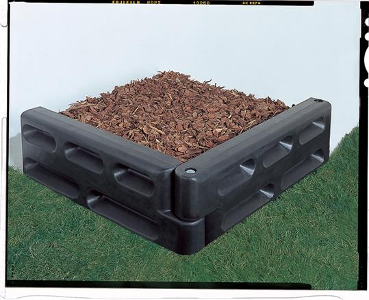 Border Timbers End Cap Package - Surfacing