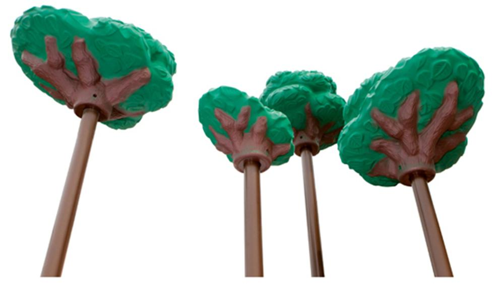 Tree Tops - Roofs & Flags