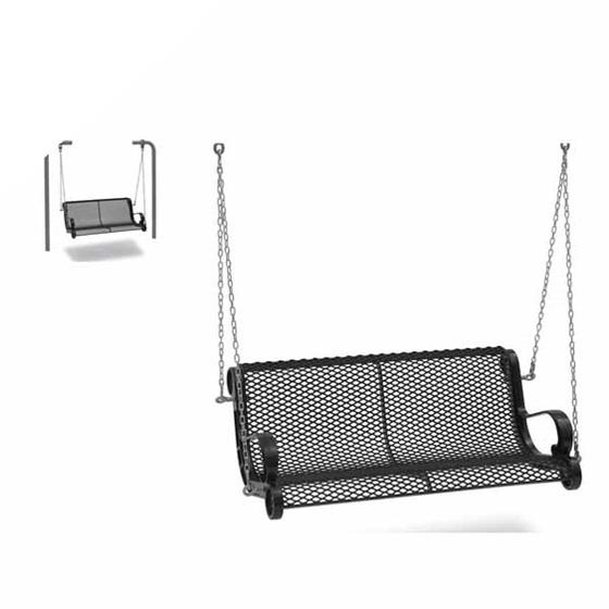 Diamond Swinging Bench with Chain 4' (1,22m) - Benches